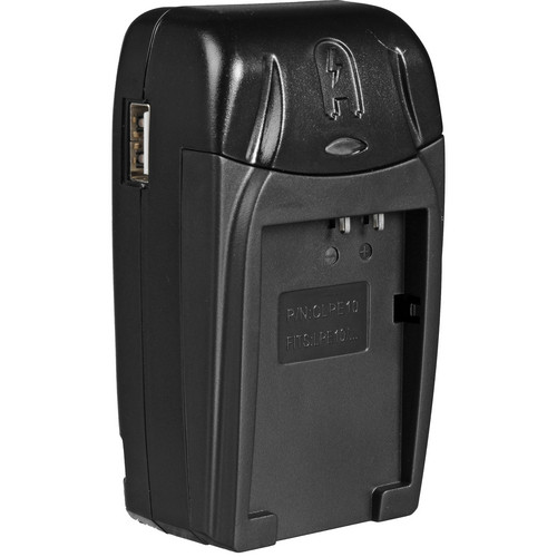 Watson Compact AC/DC Charger for LP-E10 Battery
