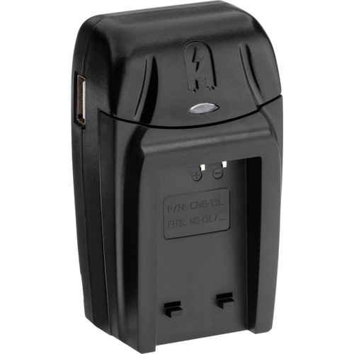 Watson Compact AC/DC Charger for NB-13L Battery