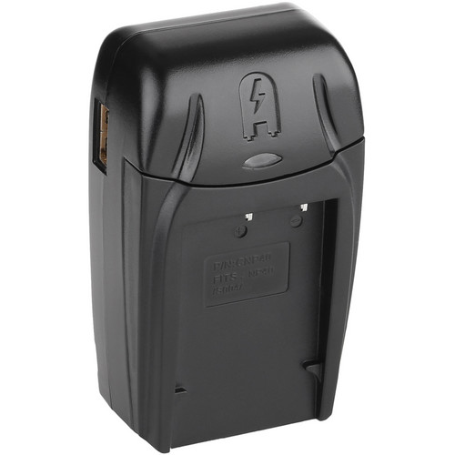 Watson Compact AC/DC Charger for NP-40, DMW-BCB7, D-Li85, or SLB-0737 Battery
