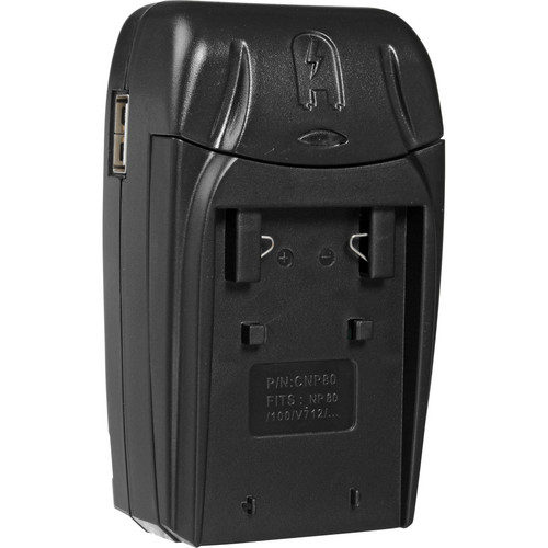 Watson Compact AC/DC Charger for NP-80 Battery