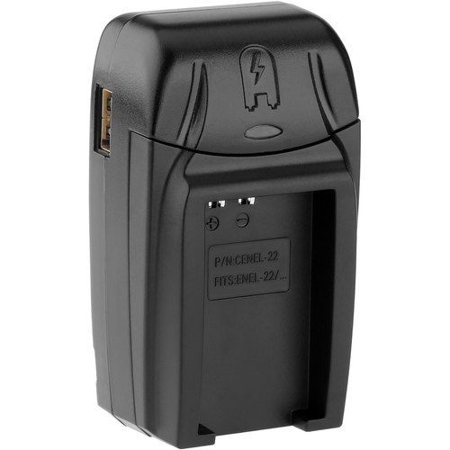 Watson Compact AC/DC Charger for EN-EL22 Battery