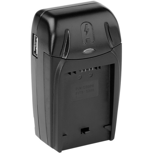 Watson Compact AC/DC Charger for BP-DC5, CGA-S006, or CGR-S006 Battery