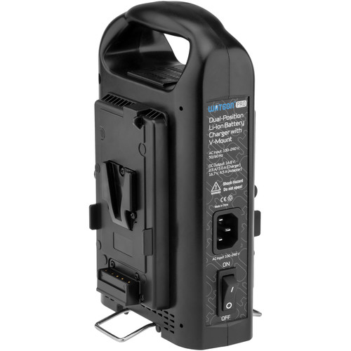 Watson Pro Dual Position Li-Ion Battery Charger (V-Mount)