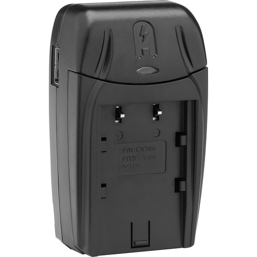 Watson Compact AC/DC Battery Charger and Adapter Plate Kit for BN-V300 Series