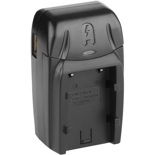 Watson Compact AC/DC Battery Charger Kit with Battery Adapter Plate for NB-3L