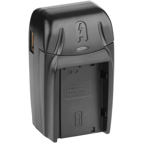 Watson Compact AC/DC Charger Kit with Battery Adapter Plate for EN-EL7
