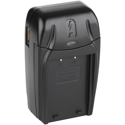 Watson Compact AC/DC Charger Kit with Battery Adapter Plate for NP-20