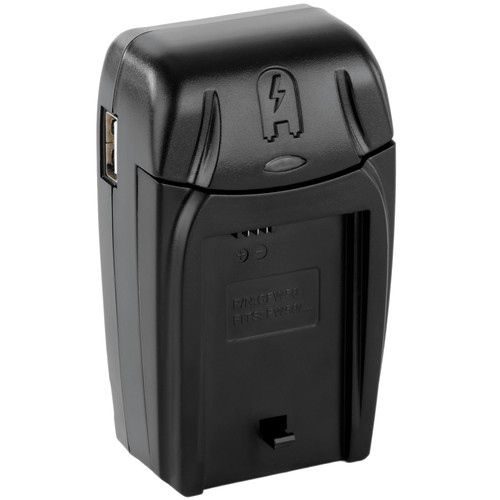 Watson Compact AC/DC Charger Kit with Battery Adapter Plate for NP-FW50