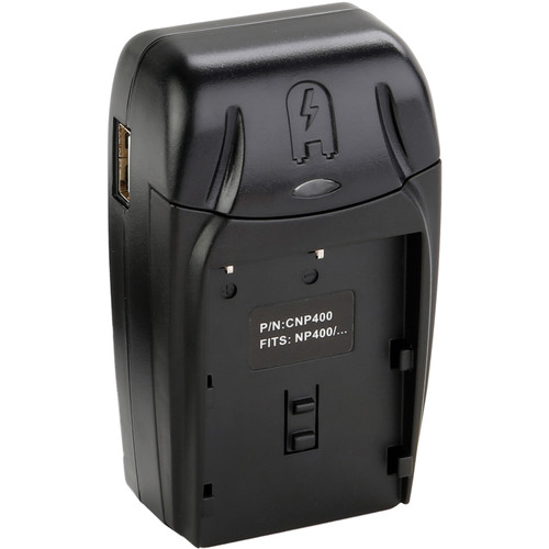 Watson Compact AC/DC Charger Kit with Battery Adapter Plate for D-Li50 or BP-21