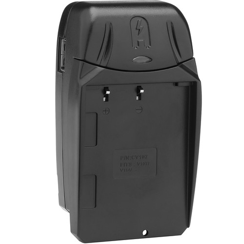 Watson Compact Charger & Battery Plate Kit for JVC BN-V107 and BN-V114