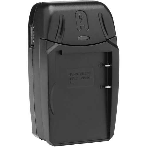 Watson Compact Charger & Battery Plate Kit for JVC BN-VM200