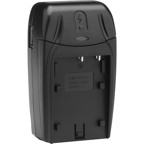 Watson Compact Charger & Battery Plate Kit for Sony NP-FS11, NP-FS12, NP-FS21, NP-FS22, NP-FS31, and NP-FS32