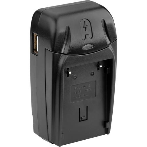 Watson Compact Charger & Battery Plate Kit for JVC BN-V408, BN-V416, BN-V428, and BN-V438