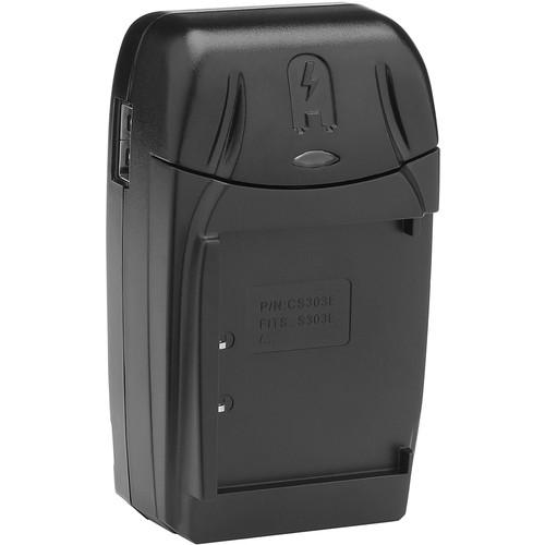 Watson Compact Charger & Battery Plate Kit for Panasonic CGA-S303