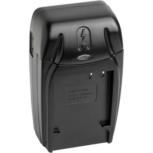 Watson Compact AC/DC Charger Kit with Battery Adapter Plate for CGA-S008, BP-DC6, DB-70, DMW-BCE10 or VW-VBJ10