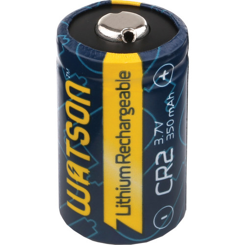 Watson CR-2 Rechargeable Lithium Battery (3.7V, 350mAh)