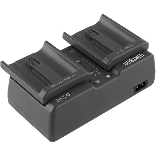 Watson Duo Battery Charger for Canon LP-E19, LP-E4, and LP-E4N Batteries