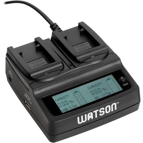 Watson Duo LCD Charger for GoPro Hero 3 Battery