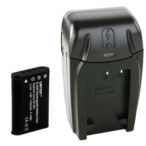 Watson NP-BX1 Lithium-Ion Battery Pack and AC/DC Charger Kit