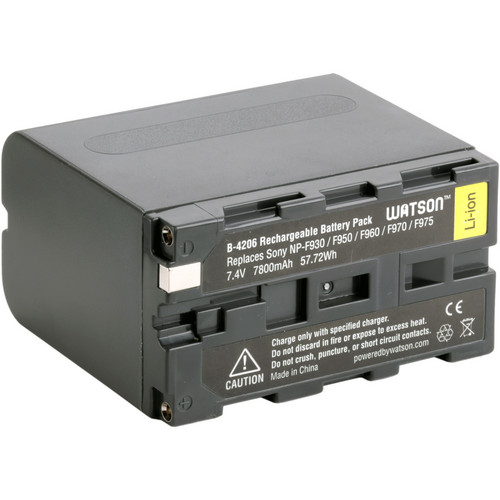 Watson NP-F975 Battery Kit with Compact AC/DC Charger