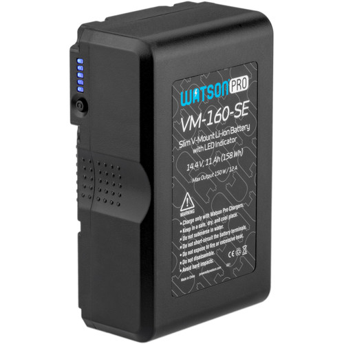 Watson Pro 14.4V 158Wh Slim Li-Ion Battery (V-Mount)