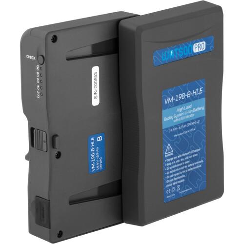 Watson Pro Buddy System High-Load V-Mount Battery