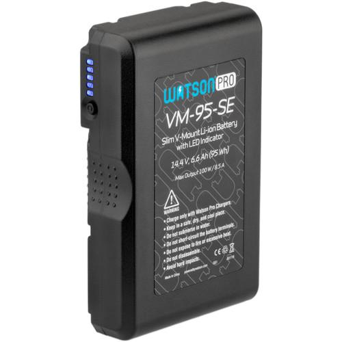 Watson Pro 14.4V 95Wh Slim Li-Ion Battery (V-Mount)