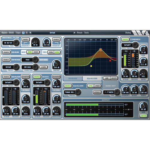 Wave Arts Dialog Post Production Speech and Voice Processor Plug-In (AAX Native)