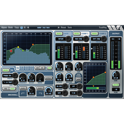 Wave Arts TrackPlug Channel Strip Plug-In (AAX DSP)