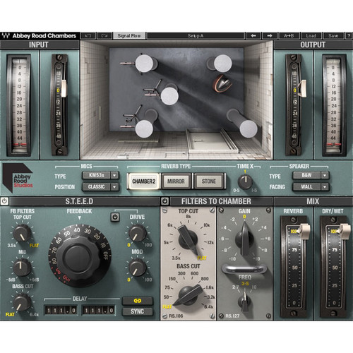 Waves Abbey Road Chambers - Tape Delay and Reverb Software for Pro Audio (Download)