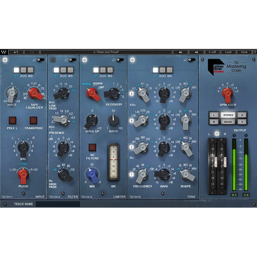 Waves Abbey Road TG Mastering Chain for Pro Audio Processing (Software, Download)