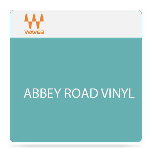 Waves Abbey Road Vinyl - Virtual Vinyl Cutting and Playback Plug-In (Download)