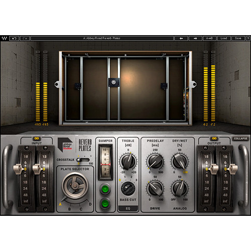 Waves Abbey Road Reverb Plates - Reverb Plug-In (Native/SoundGrid, Download)