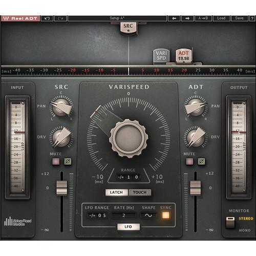Waves Reel ADT - Double Tracking Plug-In (Native/SoundGrid, Download)