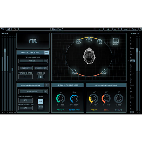 Waves Nx - Virtual Mix Room Over Headphones Plug-In (Native Download)