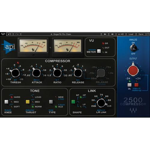 Waves API 2500 - Stereo Compressor Plug-In (Native/SoundGrid, Download)