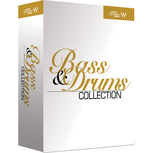 Waves Signature Series Bass and Drums - Plug-In Bundle (Native/SoundGrid, Download)