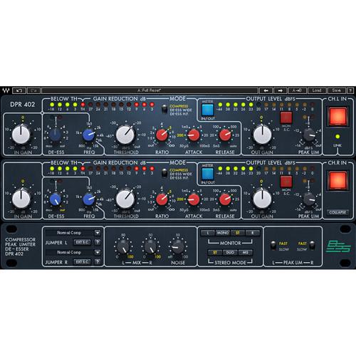 Waves BSS DPR-402 - Dynamics Processor Plug-In (Native/SoundGrid, Download)