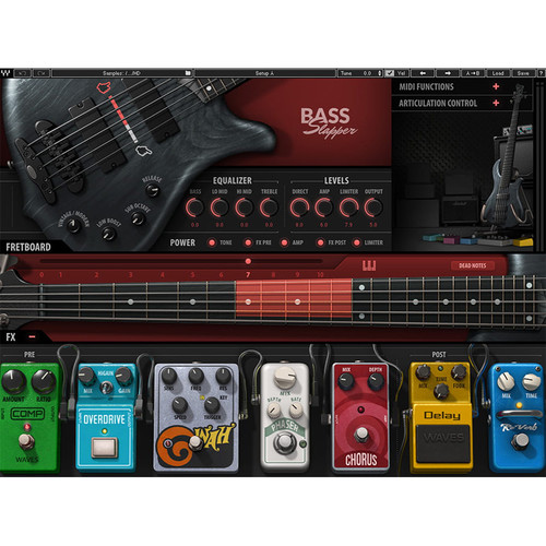 Waves Bass Slapper - Virtual Instrument (Software)