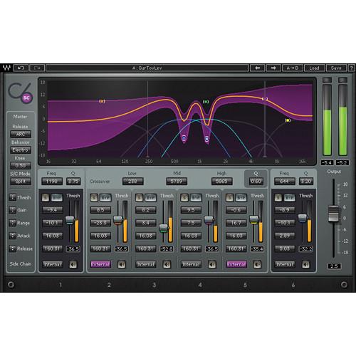 Waves C6 - Multiband Compressor (Native/SoundGrid, Download)