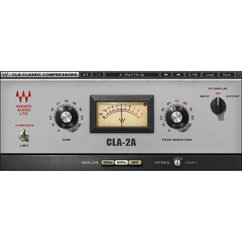 Waves CLA-2A Compressor/Limiter - Dynamics Plug-In (Native/SoundGrid, Download)