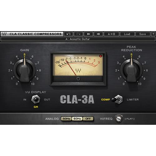 Waves CLA-3A Compressor/Limiter - Dynamics Plug-In (Native/SoundGrid, Download)