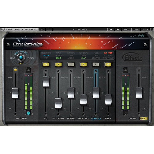 Waves CLA Effects - Multi Effects Plug-In (Native/SoundGrid, Download)
