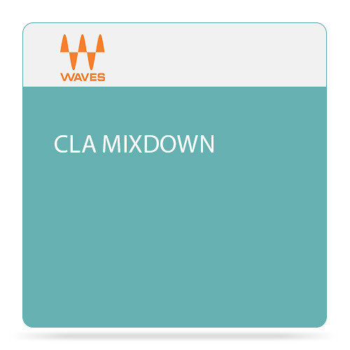 Waves CLA MixDown - Audio Software for Mix-Buss Processing (Download)