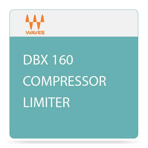Waves dbx 160 Compressor/Limiter - Dynamics Plug-In (Native/SoundGrid, Download)