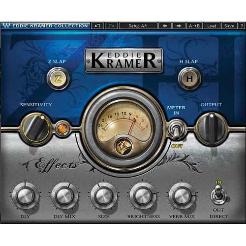Waves Eddie Kramer Effects Channel - Delay with Reverb Processing Plug-In (Native/SoundGrid, Download)