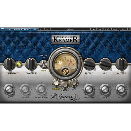 Waves Eddie Kramer Guitar Channel - Guitar Processing Plug-In (Native/SoundGrid, Download)
