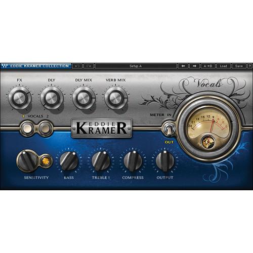 Waves Eddie Kramer Vocal Channel - Vocal Processing Plug-In (Native/SoundGrid, Download)