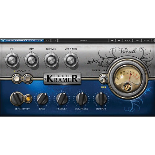 Waves Eddie Kramer Vocal Channel - Vocal Processing Plug-In (Native/SoundGrid, Download)