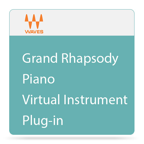 Waves Grand Rhapsody Piano - Virtual Instrument Plug-in (Download)